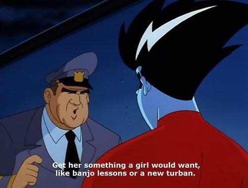 banjo,cartoons,turban,freakazoid