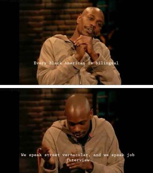 street,chappelle,language,interview,bilingual