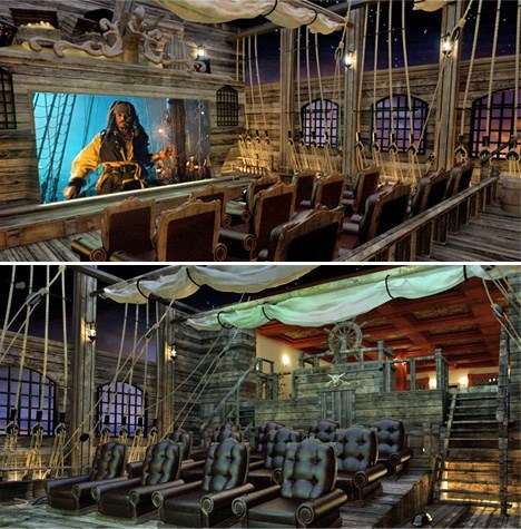 Pirates of the Caribbean nerdgasm home theater - 6943641600