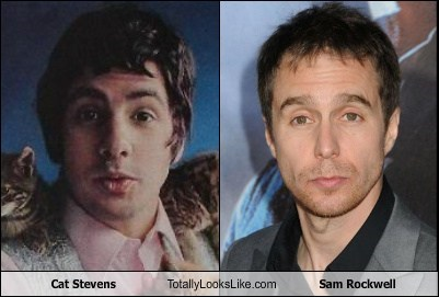 Music,actor,TLL,Sam Rockwell,cat stevens,funny