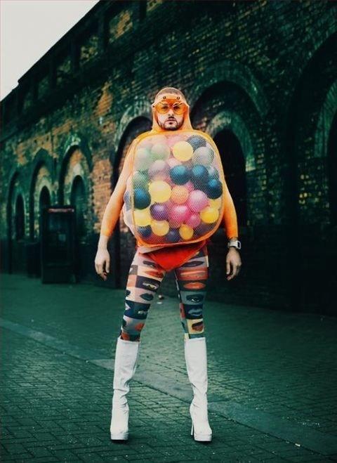 wtf bubblegum machine costume leggings poorly dressed g rated - 6943809536