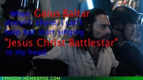scifi jesus christ gaius baltar Battlestar Galactica - 6943835392