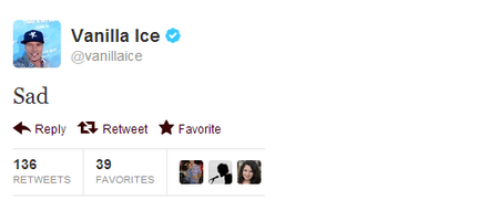 Music,twitter,Vanilla Ice,tweet,funny
