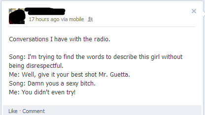 radio,david guetta,facebook