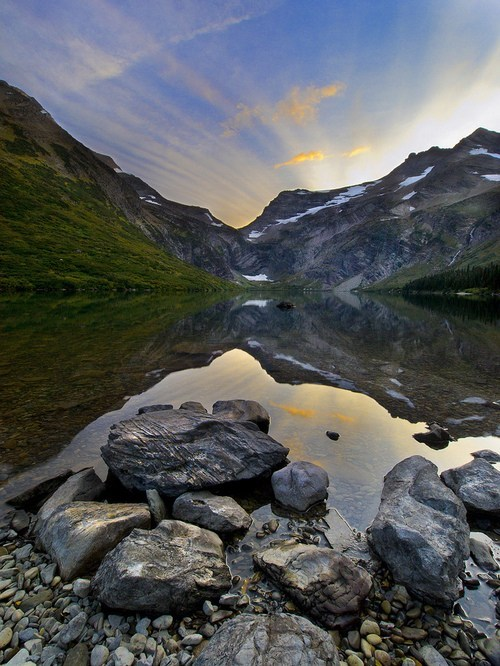 reflection,landscape,lake,mountain