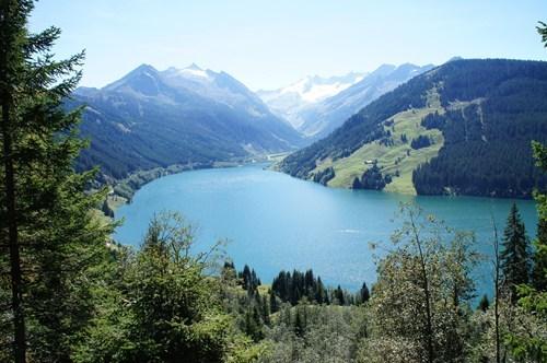 landscape,austria,lake