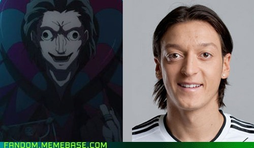 fate zero mesut ozil totally looks like caster - 6943971584