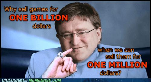 gabe newell dr-evil one millllllion gaben - 6944724480