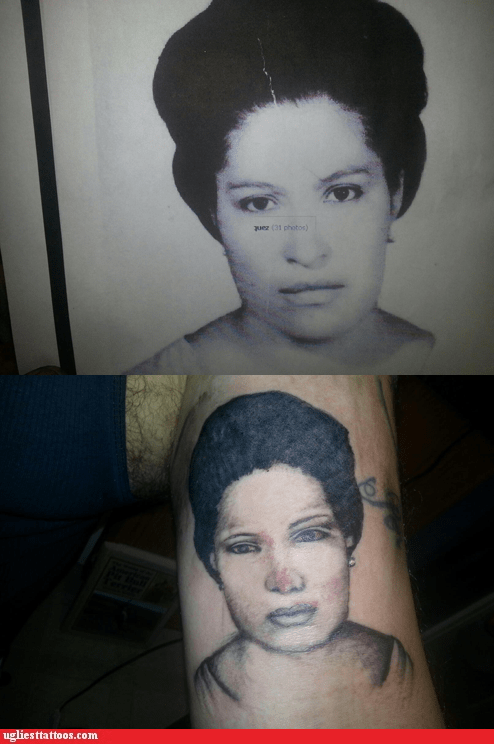 portrait tattoos,Nailed It