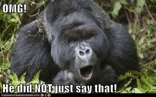 offended rustled jimmies angry gorilla omg - 6945407744