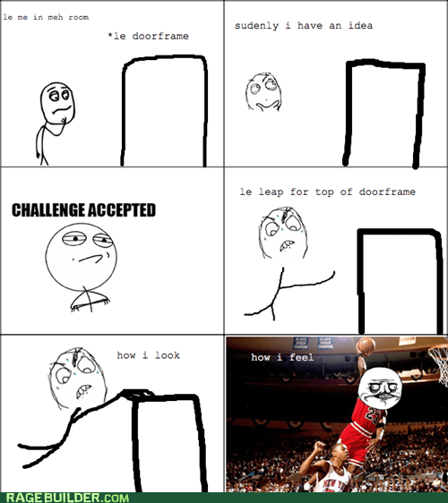 nba michael jordan Challenge Accepted me gusta basketball dunk - 6945651456