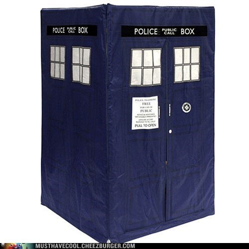 tent,tardis,pretend,doctor who,play