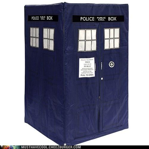 tent tardis pretend doctor who play - 6945771008