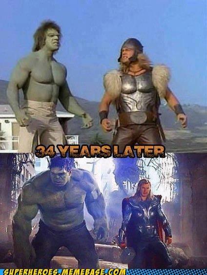 Thor TV hulk avengers - 6946286336