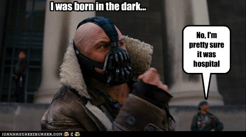 the dark knight rises,hospital,born,bane,tom hardy,batman,dark,correction