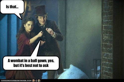 clara oswin oswald,gown,the doctor,jenna-louise coleman,Wombat,Matt Smith,doctor who