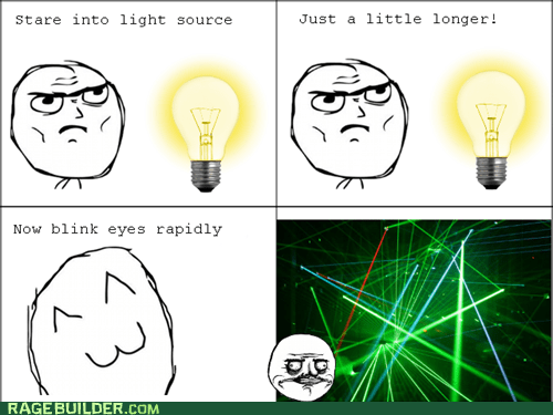 me gusta eyes laser lights pretty colors lightbulb blinking - 6947656960