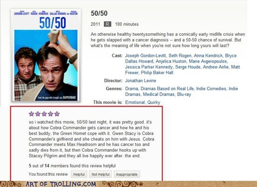 50 review Movie cobra commander Joseph Gordon-Levitt - 6947887104