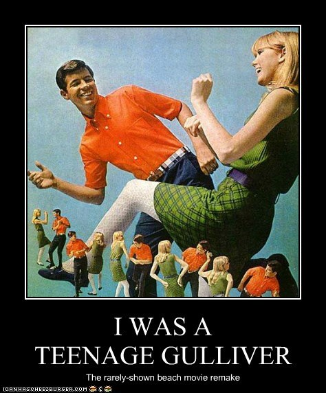 teenagers lilliput giants gullivers-travels - 6948178944