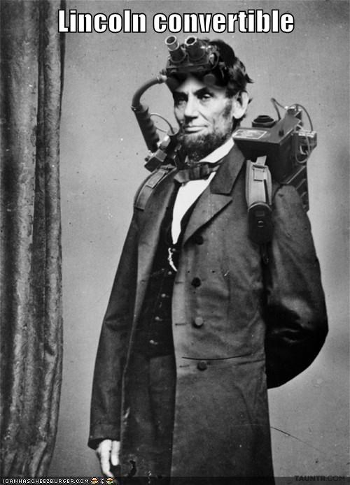 lincoln,proton pack,Ghostbusters