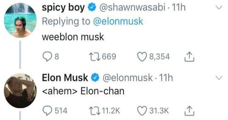 twitter anime technology elon musk social media ridiculous funny space - 6948357