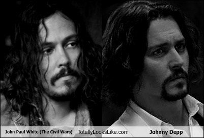 the civil wars TLL Johnny Depp john paul white - 6948527360