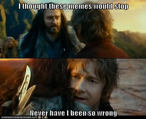 Sudden Change of Heart Thorin,stahp,The Hobbit