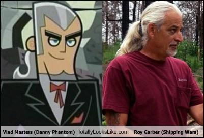 Vlad Masters (Danny Phantom) Totally Looks Like Roy Garber