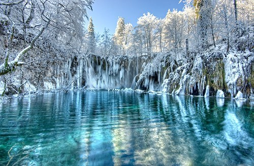 Croatia camping winter frozen lake destination WIN! g rated - 6949191936