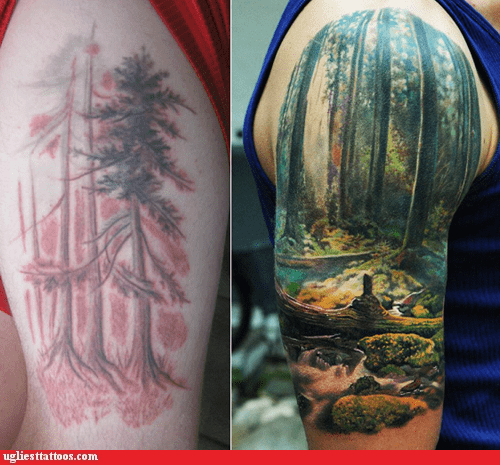 woods,good vs bad tattoos