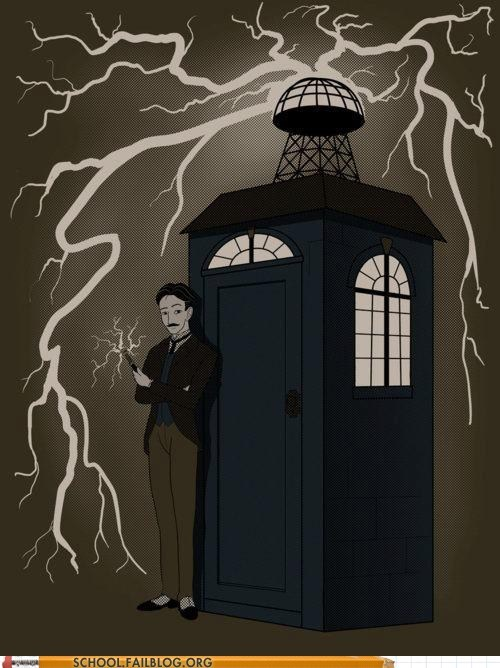doctor who,Nikola Tesla