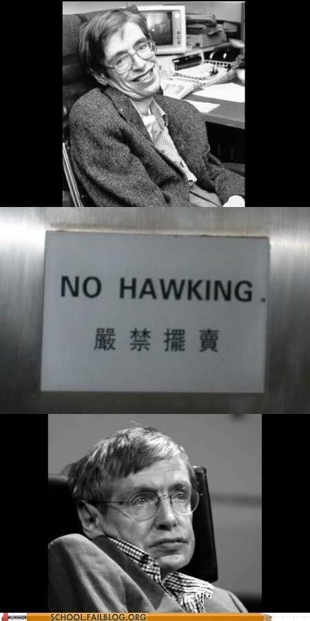 Sad sign happy stephen hawkings - 6950480640