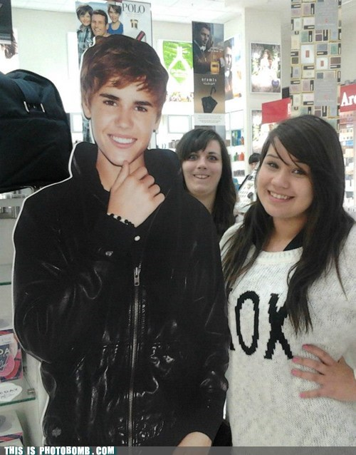 fans cardboard justin bieber - 6950988544