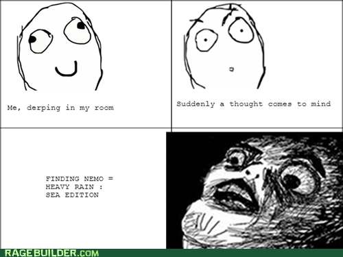 heavy rain,finding nemo,video games