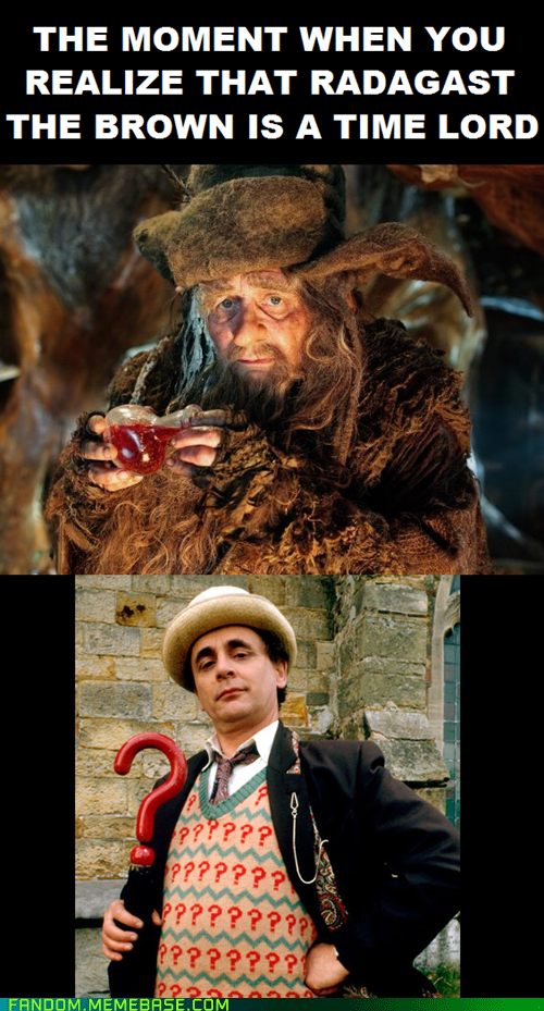 Lord of the Rings radagast the brown The Hobbit doctor who - 6951531264