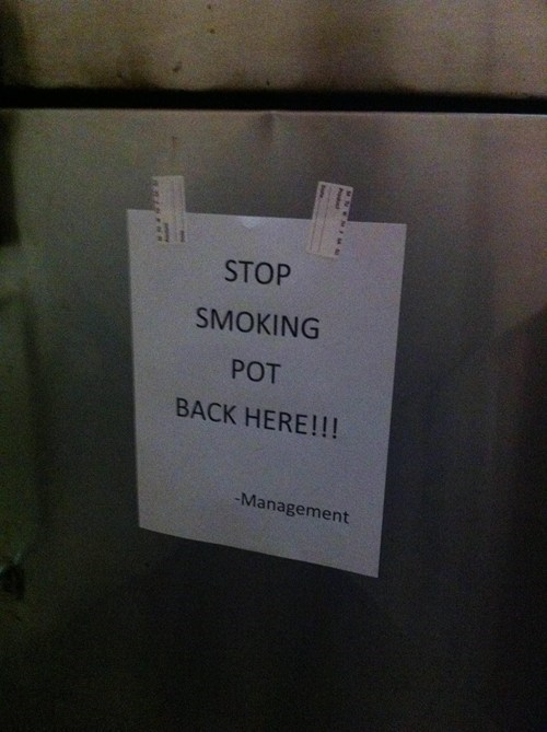management,drugs,marijuana