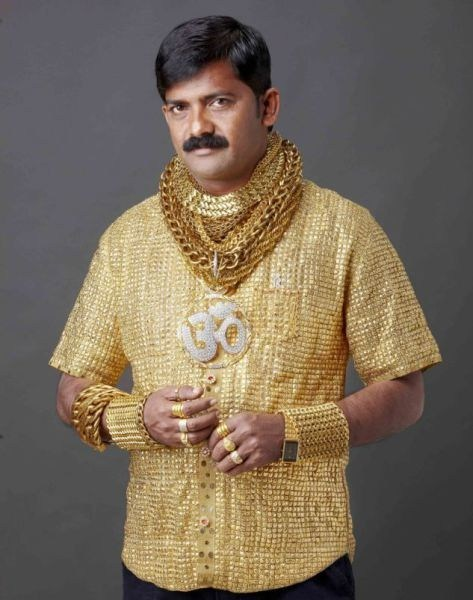 gold Jewelry Bling poorly dressed g rated - 6951855616