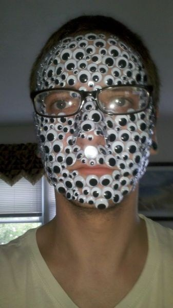 face swag glasses googly eyes - 6951871232