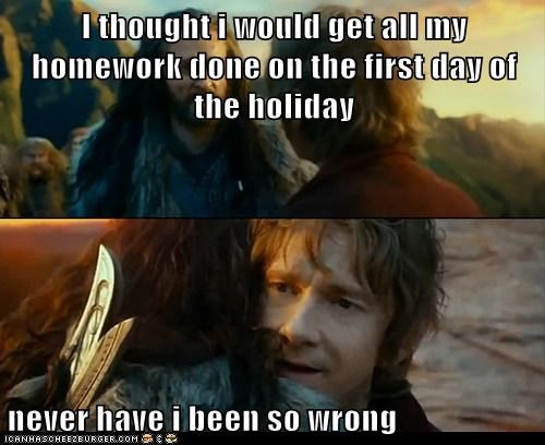 get my homework done