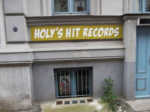signs record shops hit records