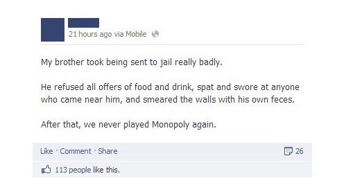 go to jail game monopoly facebook - 6951905024