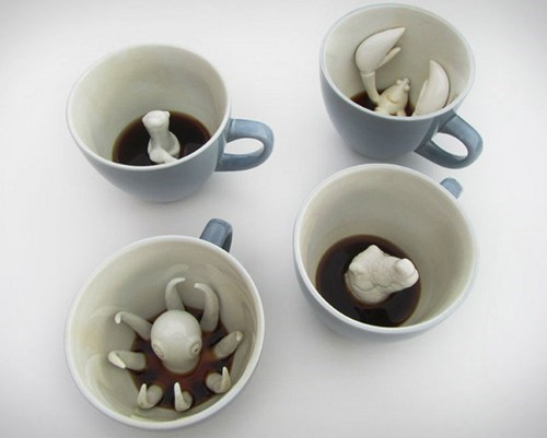 office swag coffee cup creature cups monday thru friday g rated - 6951920128