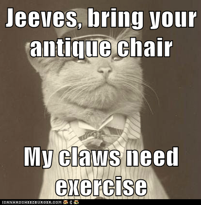 chairs claws Aristocat Cats - 6951938816
