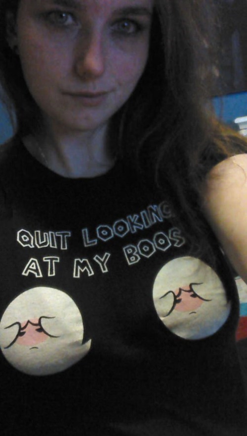boo T.Shirt bewbs - 6951964928