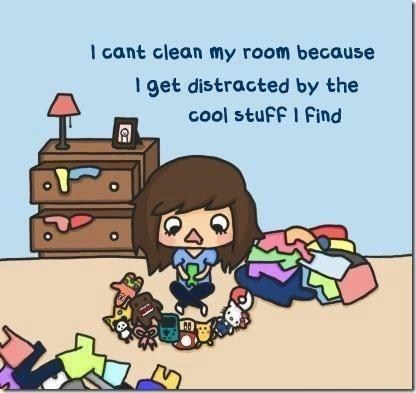 clean your room,toys,disctractions