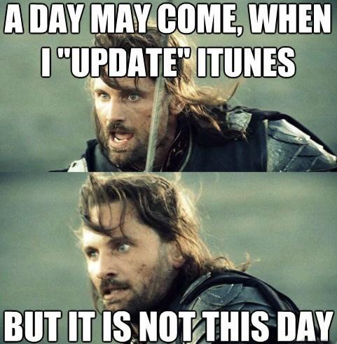 iTunes it is not update aragorn day viggo mortensen the return of the king - 6952006144