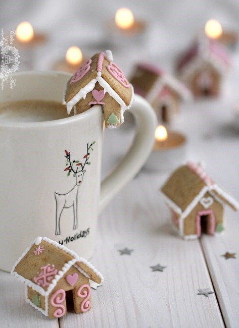 tiny,cute,gingerbread,dessert,food
