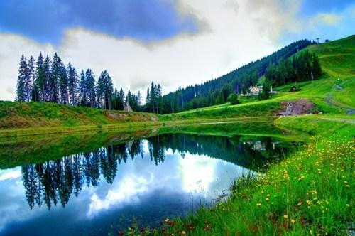 countryside China reflection lake destination WIN! g rated - 6952815872