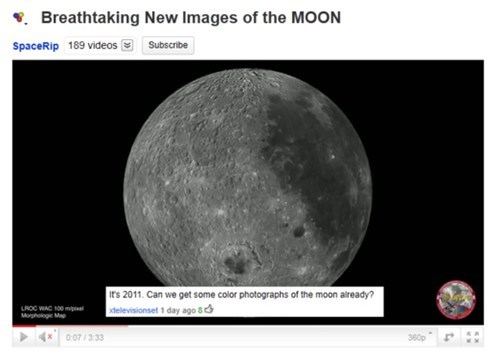 moon youtube facepalm SMH comment Video