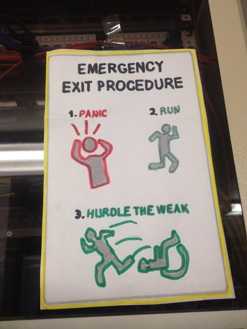 sign emergency harsh - 6953132032